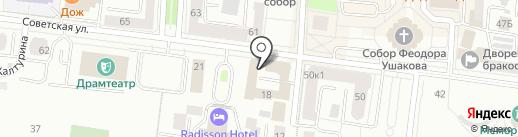 Саранскжилстрой на карте Саранска