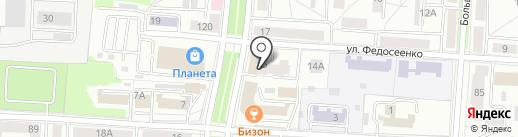 РЕГИОН-СНАБ на карте Саранска