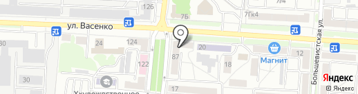 Медицинская компания на карте Саранска