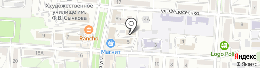 Мак Инвест на карте Саранска