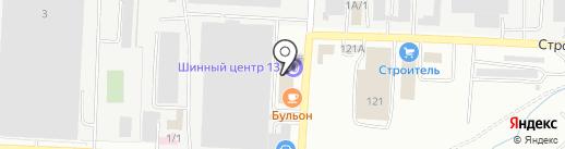 Автосалон на карте Саранска