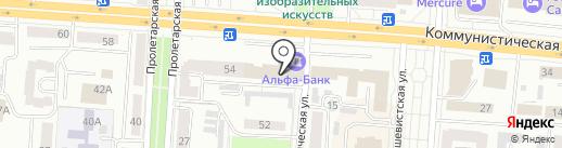 Проектно-аналитический центр на карте Саранска