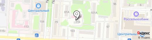 Саранское протезно-ортопедическое предприятие на карте Саранска
