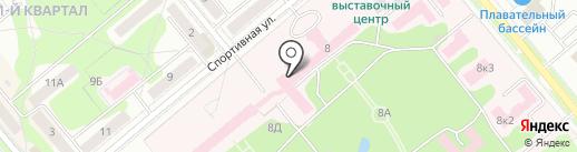 Медико-санитарная часть №59 на карте Заречного