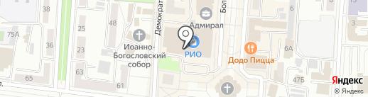O`Stin на карте Саранска