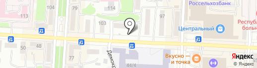 Магазин мебели на карте Саранска