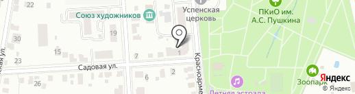 ЯСАМ на карте Саранска