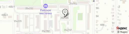 КАРАМЕЛЬ на карте Саранска