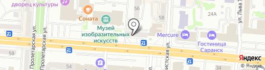 АЙКРАФТ на карте Саранска