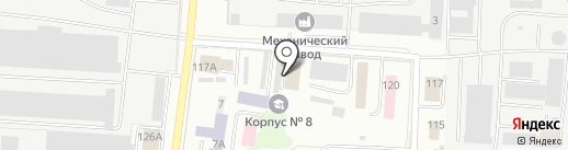 Мордовский республиканский молодёжный центр на карте Саранска