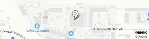От и до на карте Саранска