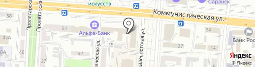 Центр практического обучения специалистов сельского хозяйства Республики Мордовия на карте Саранска