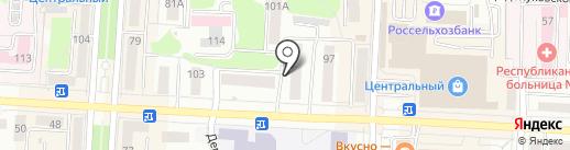 Изумруд на карте Саранска