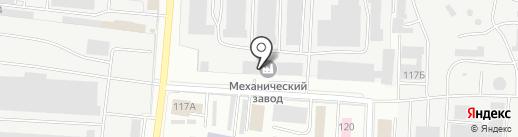 Интехпроект на карте Саранска