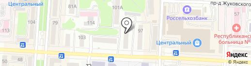 МИРСВЕТА-ОНЛАЙН на карте Саранска