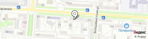 Триал-Спорт на карте Саранска