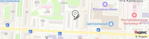 МегаФон на карте Саранска