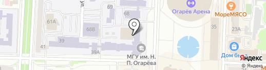 Интеграция Образования на карте Саранска