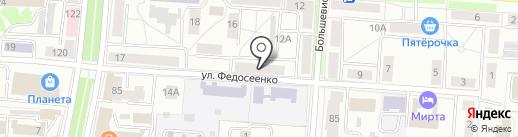 Адвокатский кабинет Наумова С.Г. на карте Саранска