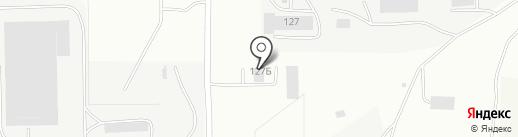 Агат на карте Саранска