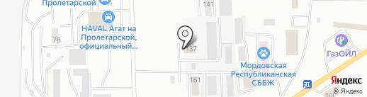 СтройАвтоТрейд на карте Саранска