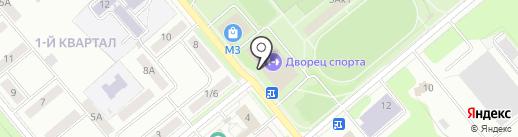 СДЮСШОР на карте Заречного