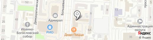 Ростелеком, ПАО на карте Саранска