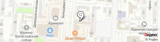 Ростелеком для бизнеса на карте Саранска