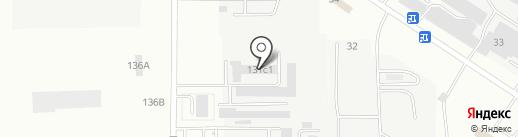 Строитель на карте Саранска