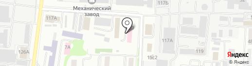 Республиканское бюро судебно-медицинской экспертизы Республики Мордовия на карте Саранска