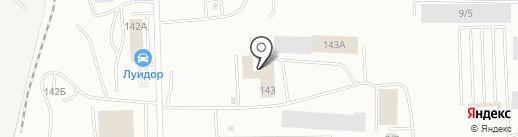 TBC на карте Саранска