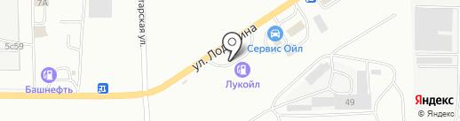 Банкомат, Банк Петрокоммерц на карте Саранска