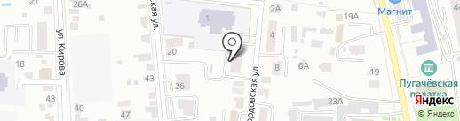 Компания по прокату лимузинов на карте Саранска