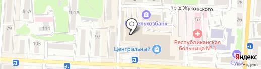 Сеть аптек на карте Саранска