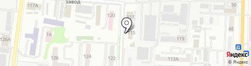 Принт 13 РУС на карте Саранска