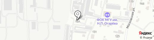 Виком на карте Саранска