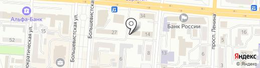 Деловой Союз на карте Саранска