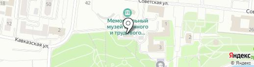 Единая дежурно-диспетчерская служба городского округа Саранск на карте Саранска