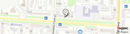 Мемориальная гарантия-Саранск на карте Саранска