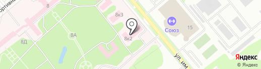 Комбинат общественного питания №57 на карте Заречного