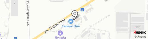 Мотор на карте Саранска