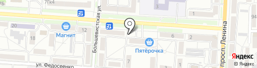 Москвич на карте Саранска