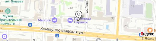 АВТОПИЦЦА на карте Саранска