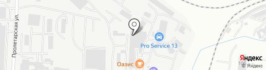Независимая служба аварийных комиссаров на карте Саранска