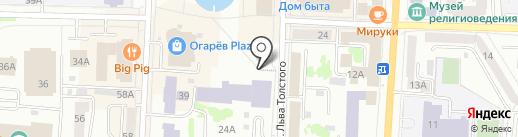 Джинсы от Розы на карте Саранска