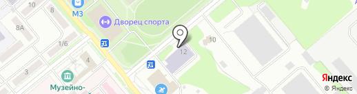 ДЮСШ, МОУ ДО на карте Заречного