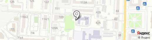 Мордовский гуманитарный институт на карте Саранска