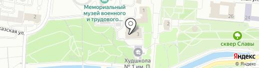 Управление Федеральной налоговой службы России по Республике Мордовия на карте Саранска