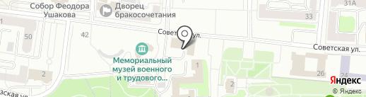 Финансовое управление городского округа Саранск на карте Саранска