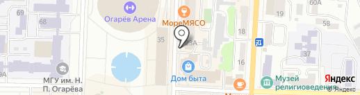 Фото zoom на карте Саранска